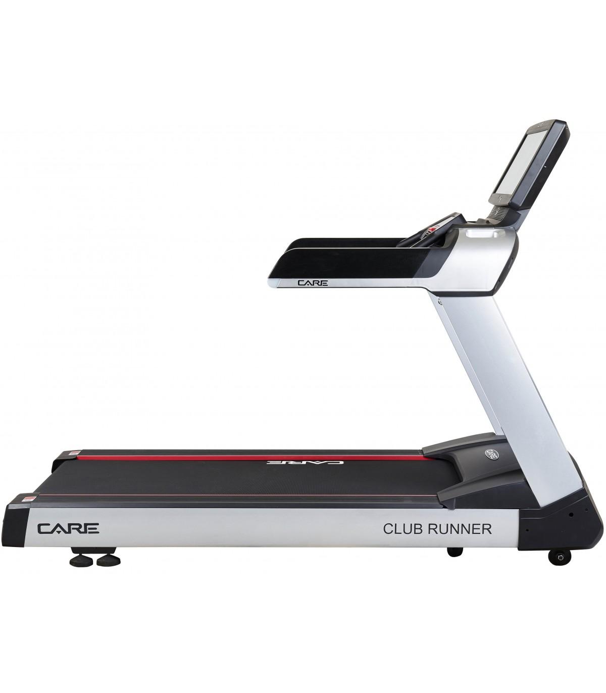 Tapis de course professionnel club runner tft care fitness - Tapis course professionnel ...