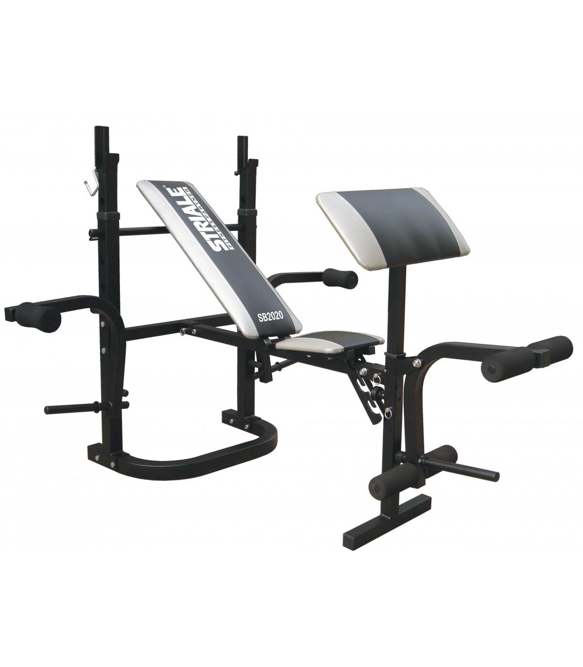 Banc de musculation sb 2020 care fitness - Banc de musculation care ...