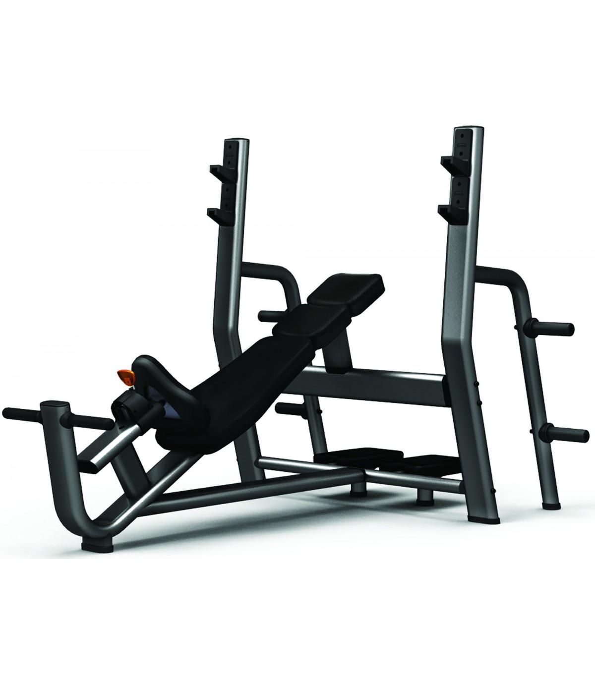 Banc de musculation professionnel d velopp inclin care fitness - Banc de musculation complet professionnel ...