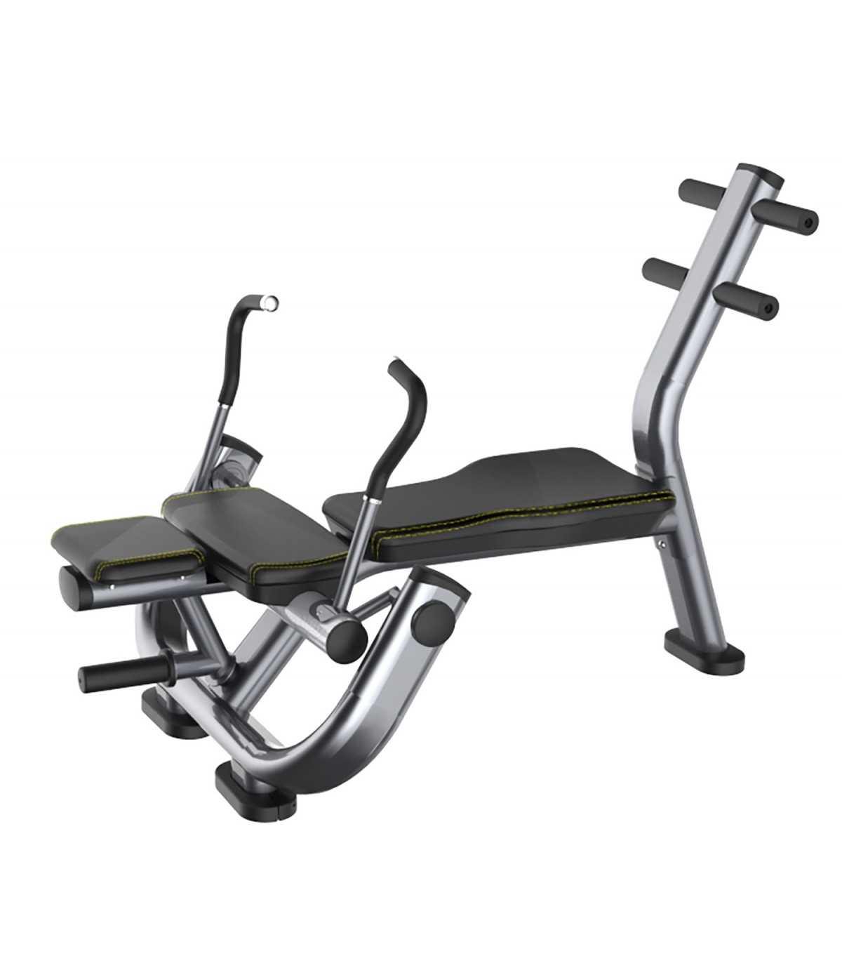 Banc de musculation professionnel abdominaux crunch care fitness - Banc musculation professionnel ...