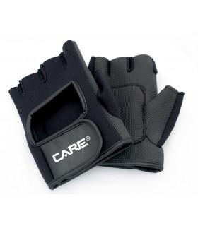 Gants d'entrainement neoprene noirs Taille M (7-8)